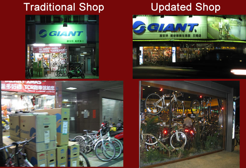 Giant shop upgrade